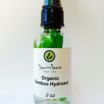 Clear - bamboo, eucalyptus, mint, oregano, tea tree hydrosol blend